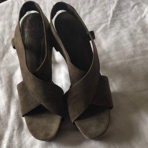 Diane VonFurstenberg Tall Sexy Suede Shoes 10